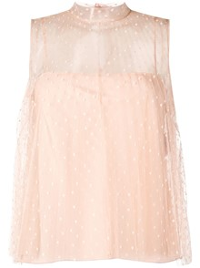 RED VALENTINO CHIFFON TOP