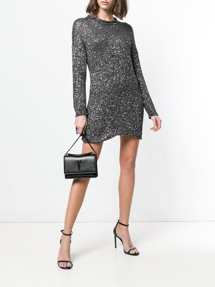 SAINT LAURENT GLITTER DRESS