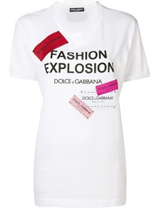 DOLCE & GABBANA FASHION EXPLOSION T-SHIRT