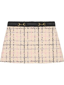 GUCCI ROMANTIC TWEED SKIRT