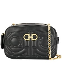 SALVATORE FERRAGAMO QUILTED CROSS BODY BAG