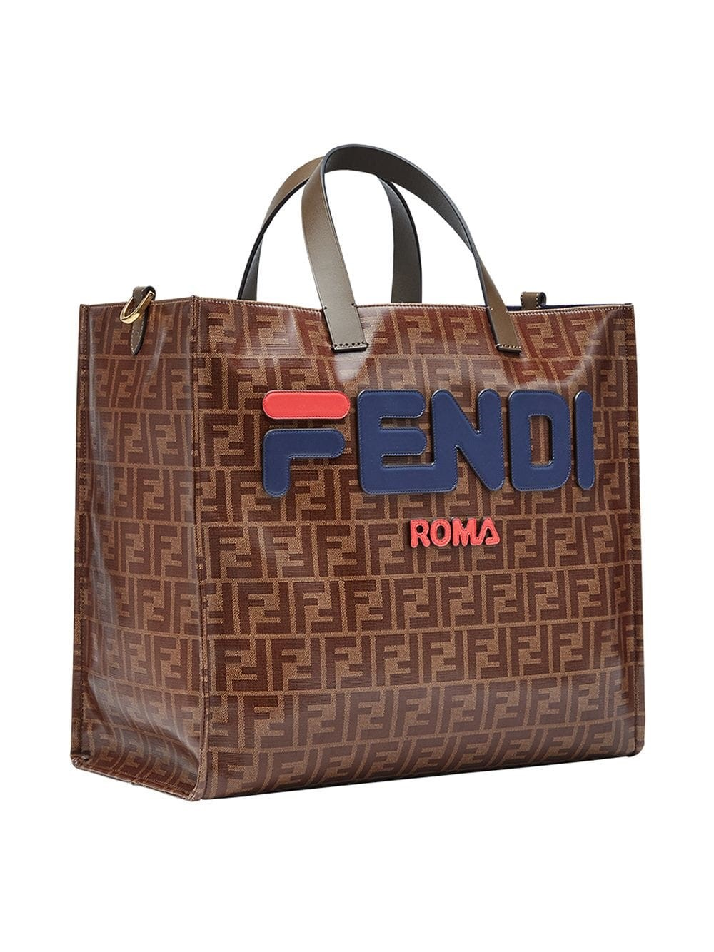 d2689598bd8e fendi FENDI FILA LOGO SHOPPING BAG available on montiboutique.com ...