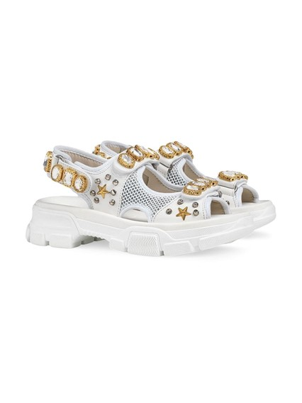 GUCCI CRYSTALS SANDALS