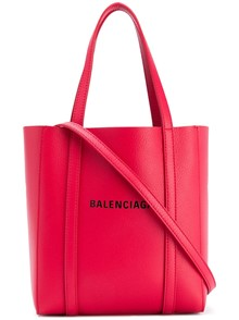 BALENCIAGA DOUBLE LOGO BALTIMORE BAG