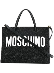 MOSCHINO LOGO BAG WITH STRAP