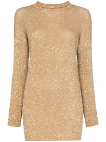 SAINT LAURENT GLITTER DRESS