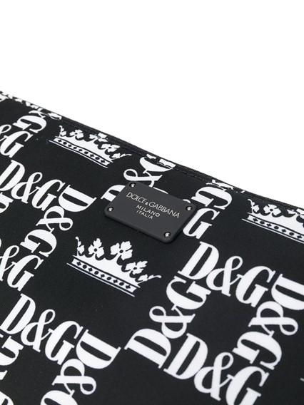 DOLCE & GABBANA PRINTED BELT BAG