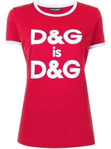 DOLCE & GABBANA D&G IS D&G T-SHIRT