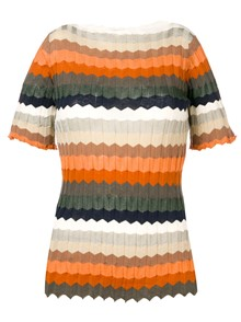 ROBERTO COLLINA STRIPED T-SHIRT