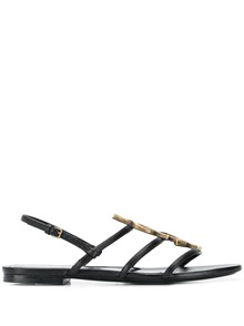 SAINT LAURENT MONOGRAM SANDALS
