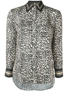 EQUIPMENT FEMME ANIMAL PRINT SHIRT