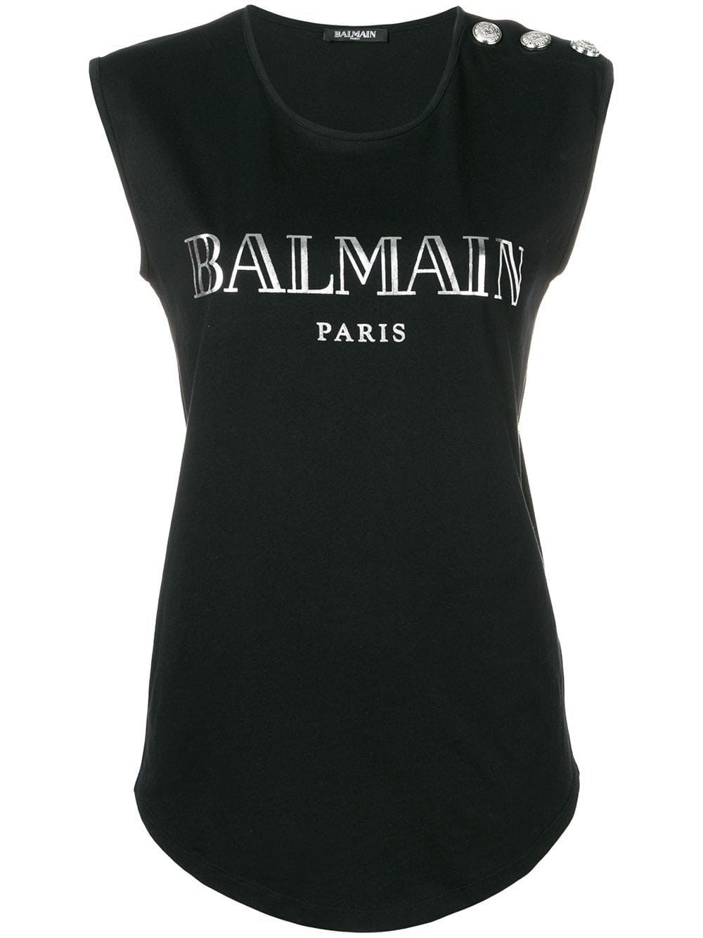 529afa42 balmain LOGO T-SHIRT available on montiboutique.com - 27366
