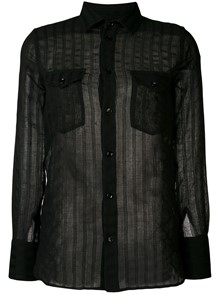 SAINT LAURENT RAYURE SHIRT