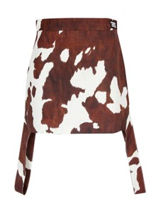 BURBERRY LONDON ENGLAND COW PRINT SKIRT BURBERRY KINGDOM