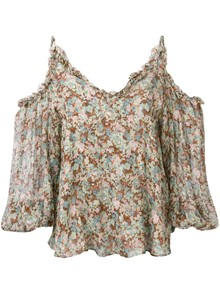 STELLA MCCARTNEY FLORAL TOP