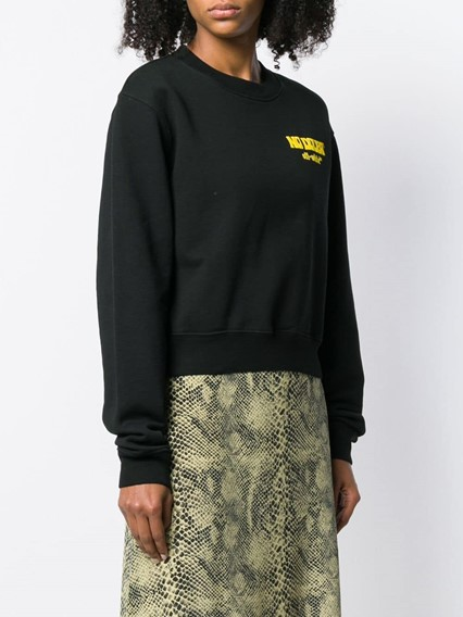 OFF-WHITE CRUMBLING SWEATER