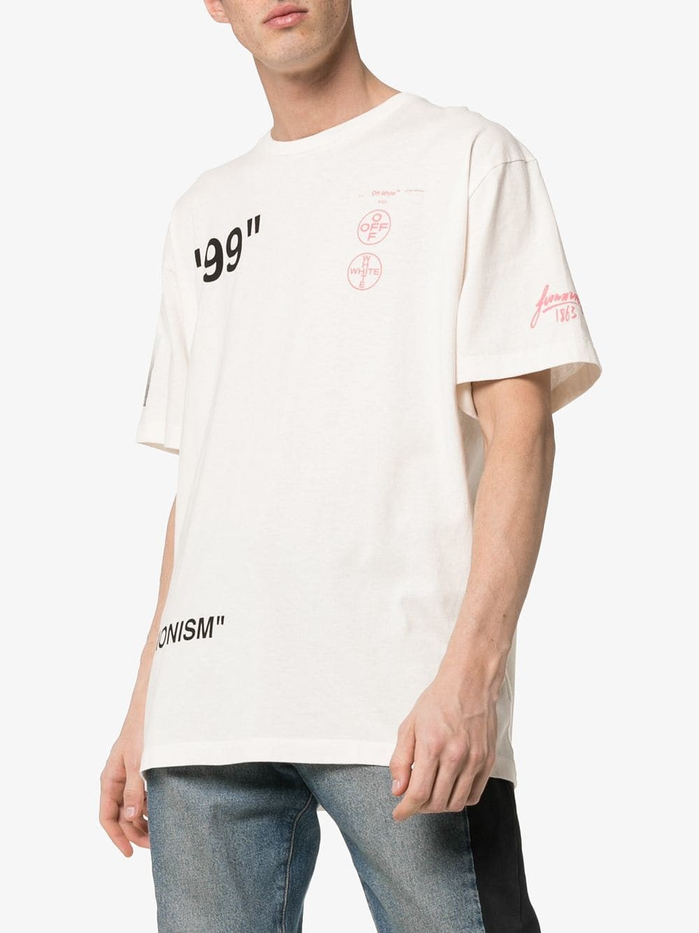 5afd5e3a off-white OVER BOAT T-SHIRT available on montiboutique.com - 27734