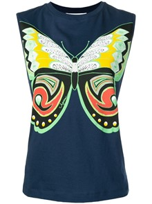 SEE BY CHLOE` BUTTERFLY TOP