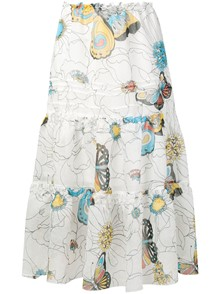SEE BY CHLOE` PRINTED SKIRT