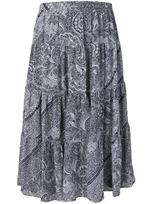 MICHAEL KORS MK PRINTED SKIRT