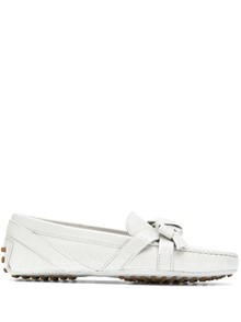 TOD'S RIBBON DETAIL LOAFERS