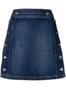 CURRENT/ELLIOTT DENIM SKIRT