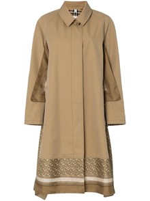 BURBERRY LONDON ENGLAND FOULARD TRENCH COAT
