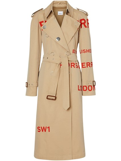 BURBERRY LONDON ENGLAND WHARFBRIDGE TRENCH COAT