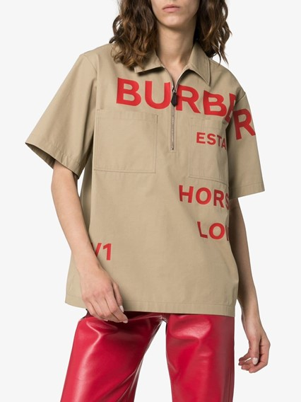 BURBERRY LONDON ENGLAND LOGO SHIRT