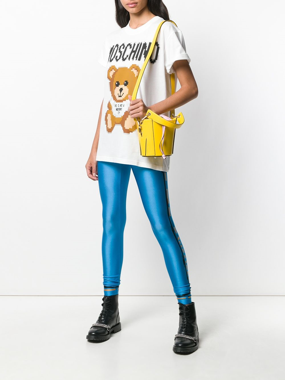 2b03f366b264 moschino PIXEL CAPSULE T-SHIRT available on montiboutique.com - 28119