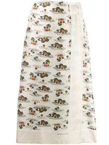 BOTTEGA VENETA PRINTED SKIRT