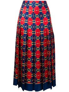 GUCCI PRINTED SKIRT