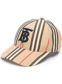 BURBERRY LONDON ENGLAND STRIPE BASEBALL CAP