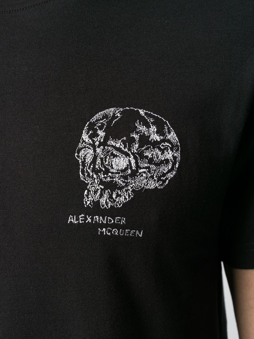 ef36ed7d alexander mcqueen SKULL T-SHIRT available on montiboutique.com - 28195