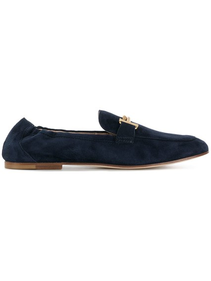 TOD'S  T BUCKLE LOAFERS