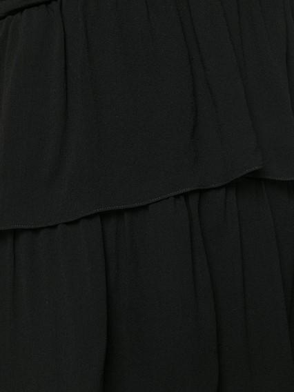 SAINT LAURENT MOUSSELINE DRESS