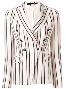 TAGLIATORE STRIPED JACKET