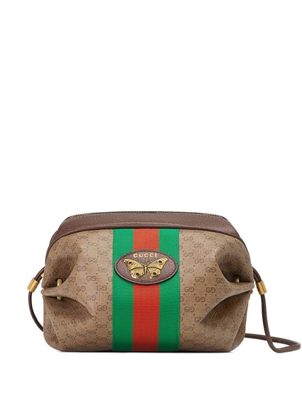 GUCCI WEB GG PRINT CROSS BODY BAG