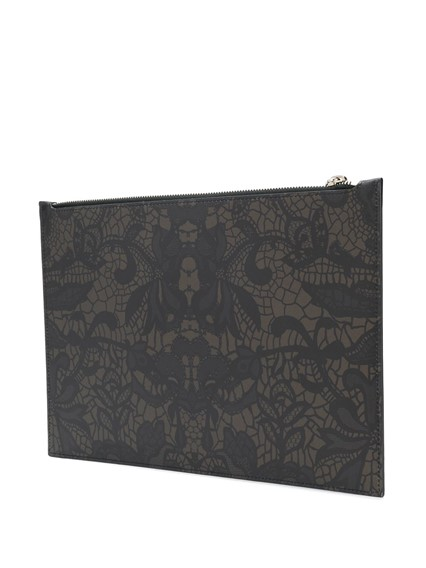 ALEXANDER MCQUEEN  PRINTED CLUTCH BAG