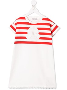 MONCLER KIDS LOGO DRESS 8/10Y
