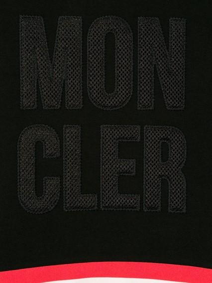 MONCLER KIDS LOGO SWEATER 12Y
