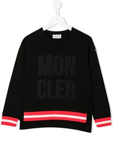 MONCLER KIDS LOGO SWEATER 12Y