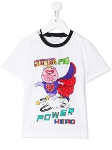 DOLCE & GABBANA KIDS SUPER PIG T-SHIRT 0/6Y