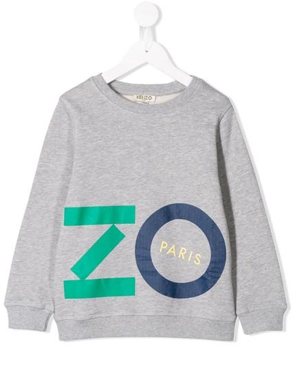 KENZO KIDS LOGO FIORINO SWEATSHIRT 2/6Y