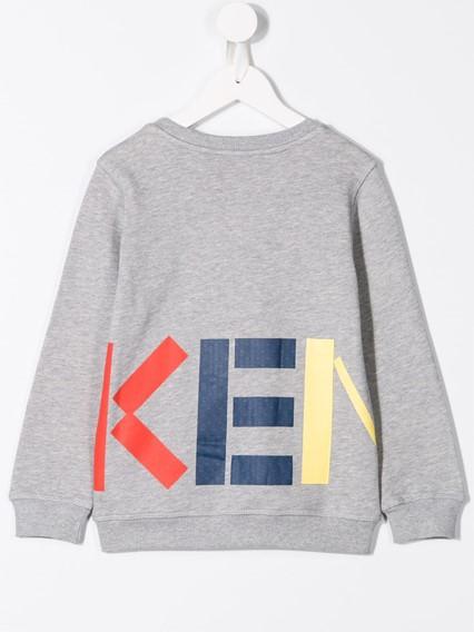 KENZO KIDS LOGO FIORINO SWEATSHIRT 8/12Y