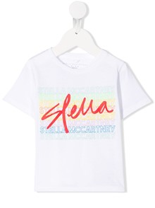 STELLA MCCARTNEY KIDS LOGO T-SHIRT 0/12Y