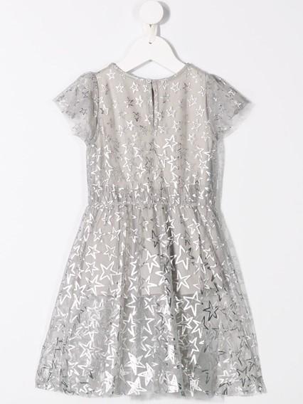 STELLA MCCARTNEY KIDS STAR PRINT DRESS 0/12Y