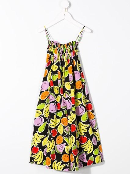 STELLA MCCARTNEY KIDS PRINTED DRESS 0/12Y