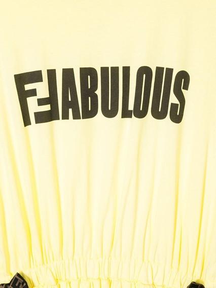 FENDI KIDS JERSEY DRESS 14Y