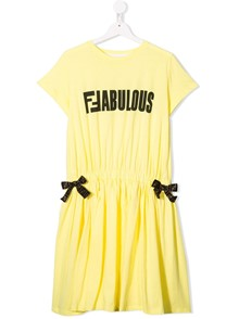 FENDI KIDS JERSEY DRESS 14Y